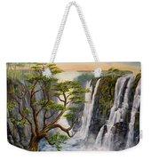 Victoria Falls Zimbabwe  Weekender Tote Bag