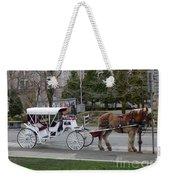 Victoria Horse Carriages Weekender Tote Bag