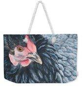 Victoria, Lavender Cochin Chicken Weekender Tote Bag