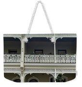 Victoria Street Balcony Weekender Tote Bag