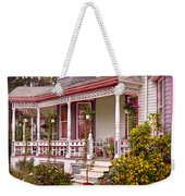 Victorian - Belvidere Nj - The Beauty Of Spring  Weekender Tote Bag by Mike Savad