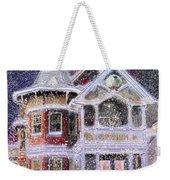 Victorian Christmas Weekender Tote Bag