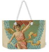 Victorian Cupid Weekender Tote Bag