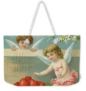 Victorian Era Valentine Card Weekender Tote Bag