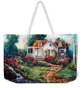 Victorian House With Gardens Weekender Tote Bag