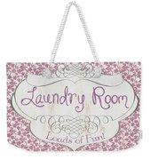 Victorian Laundry Room Weekender Tote Bag