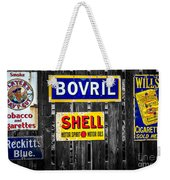 Victorian Signs Weekender Tote Bag