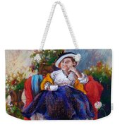 Victorian Tea Time Weekender Tote Bag