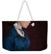 Victorian Woman Portrait In Profile  Weekender Tote Bag
