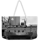 Victory Ship Weekender Tote Bag