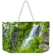 Vidae Falls, Oregon Weekender Tote Bag