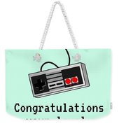 Video Gamer Birthday Card - Retro Game Console Card - Video Game Nerd -  Congratulations On Your Leve Greeting Card