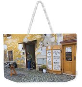 Vienna Girl And Dog Weekender Tote Bag