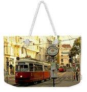 Vienna Streetcar Weekender Tote Bag