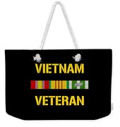 Vietnam Veteran Ribbon Bar  Weekender Tote Bag