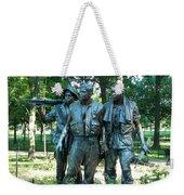 Vietnam War Memorial Statue Weekender Tote Bag