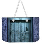 Vieux Carre' Doorway At Night Weekender Tote Bag