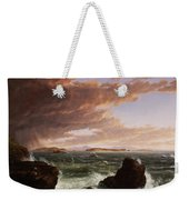 View Across Frenchman's Bay From Mt. Desert Island After A Squall Weekender Tote Bag