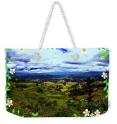 View And Inca/canari Ruins On Cojitambo II Weekender Tote Bag