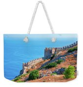 View Far Out To Sea From Alanya Castle Weekender Tote Bag