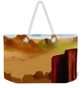 View From A Butte Weekender Tote Bag