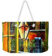 View From A French Quarter Balcony Weekender Tote Bag by Diane Millsap