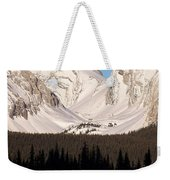 View From A Frozen Lake  Weekender Tote Bag