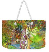 View From A Garden Weekender Tote Bag