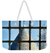 View From A New England Turret Weekender Tote Bag