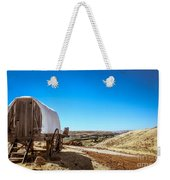 View From A Sheep Herder Wagon Weekender Tote Bag