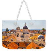 View From Above Of Dubrovnik Weekender Tote Bag
