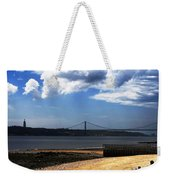 View From Across The Tagus Weekender Tote Bag