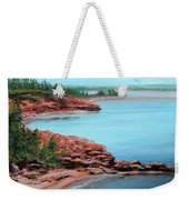 View From Cape Bear Weekender Tote Bag