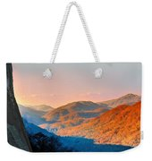 View From Chimney Rock-north Carolina Weekender Tote Bag