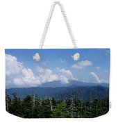 View From Clingman's Dome Weekender Tote Bag