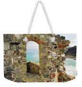 View From Doria Castle In Portovenere Italy Weekender Tote Bag