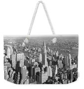 View From Empire State Bldg. Weekender Tote Bag