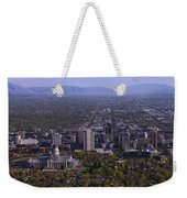 View From Ensign Weekender Tote Bag by Chad Dutson