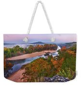 View From Greens Cave Bluff Weekender Tote Bag