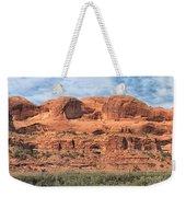 View From Highway 128, Utah Weekender Tote Bag