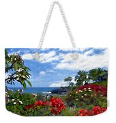 View From Keauhou Kona Weekender Tote Bag