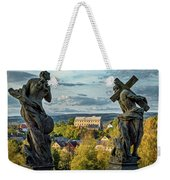 View From Kuks Hospital - Czechia Weekender Tote Bag