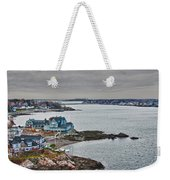 View From Marblehead Lighthouse Weekender Tote Bag