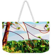 View From Mazengah - Crop Weekender Tote Bag