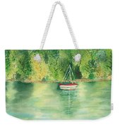 View From Millbay Ferry Weekender Tote Bag