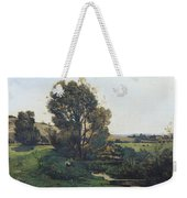 View From Moncel-sur-seine Weekender Tote Bag
