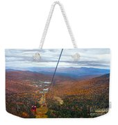 View From Mount Mansfield In Autumn Weekender Tote Bag