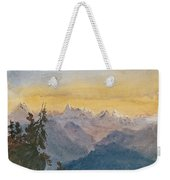 View From Mount Pilatus Weekender Tote Bag
