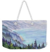 View From Nepenthe Weekender Tote Bag