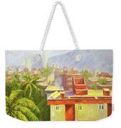 View From Our Balcony Weekender Tote Bag